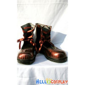 Rozen Maiden Cosplay Souseiseki Brown Shoes