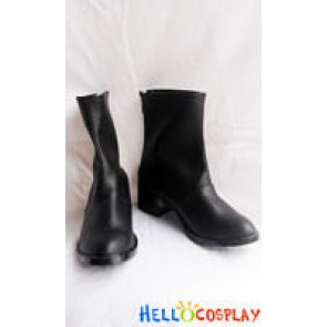 Vampire Knight Cosplay Kuran Yuki Black Short Boots