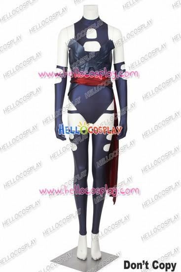 X Men Apocalypse Psylocke Cosplay Costume Uniform