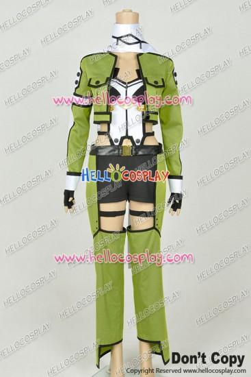 Sword Art Online Ⅱ 2 Cosplay Shino Asada Fighting Uniform Costume