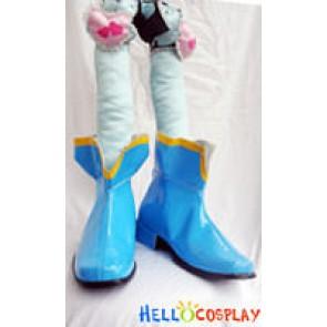 Puella Magi Madoka Magica Cosplay Sayaka Miki Boots
