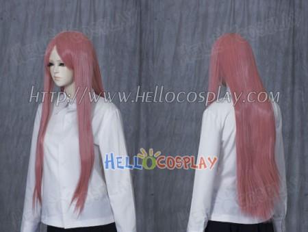 Pink Medium Cosplay Straight Wig