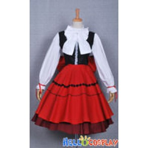 Hetalia: Axis Powers Hungary Cosplay Red Dress