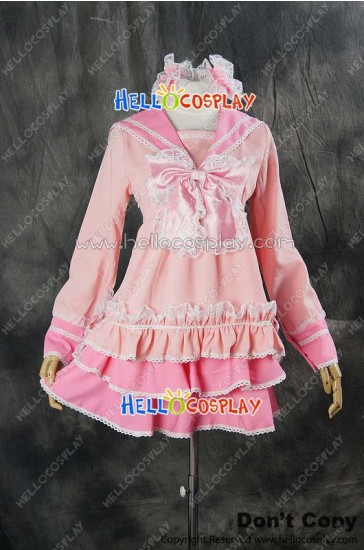 Vocaloid 2 Cosplay Hatsune Miku Lots Of Laugh Dress Costume