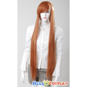 Cosplay Brown Long Wig