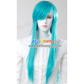 Cosplay Neon Blue Medium Wig