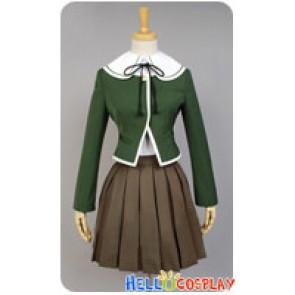 Danganronpa Cosplay Chihiro Fujisaki Costume Uniform