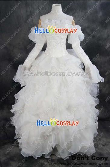 Code Geass Cosplay Euphemia Li Britannia Dress Costume New