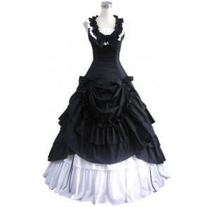 Southern Belle Lolita Ball Gown Black Wedding Dress