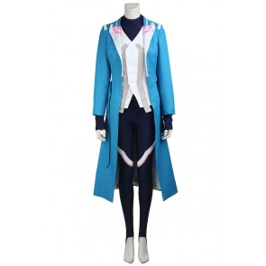 Pokemon GO Blanche Female Blue Cosplay Costume