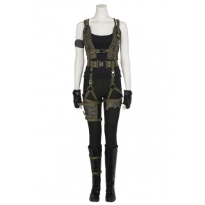 Resident Evil The Final Chapter Alice Cosplay Costume