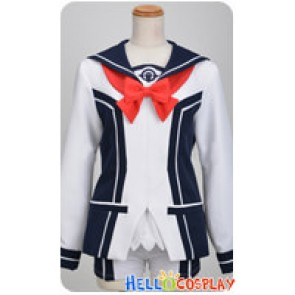 Vividred Operation Cosplay Aoi Futaba Girl Uniform Costume