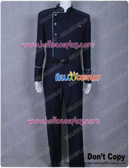 Battlestar Galactica Costume Commander Officer Uniform