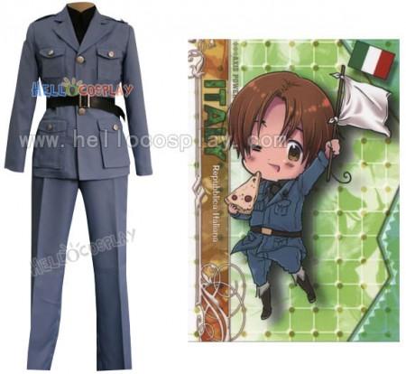 Hetalia Axis Powers North Italy Military Uniform