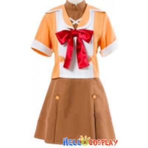 Macross Frontier Cosplay Costume Ranka Lee School Uniform