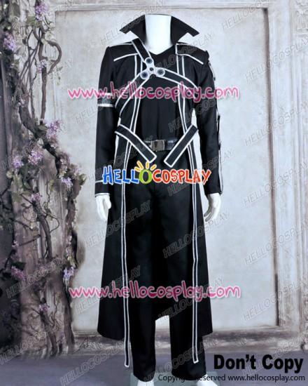 Sword Art Online Cosplay Kazuto Kirigaya Kirito Cotton Ver Costume