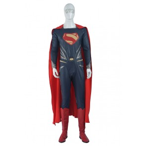 Batman v Superman: Dawn of Justice Superman Clark Kent Cosplay Costume