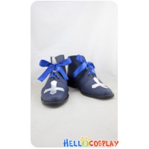 Elsword Cosplay Shoes Ciel Shoes Blue