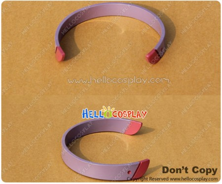 Accel World Cosplay Chiyuri Kurashima Purple Headwear Prop