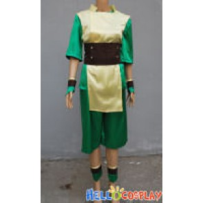 Avatar The Last Airbender Toph Bei Fong Cosplay Costume