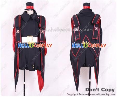 Macross Frontier Cosplay The False Diva Ranka Lee Black Rabbit Costume