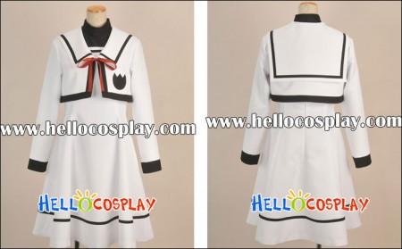 Magical Girl Lyrical Nanoha Cosplay School Girl Uniform