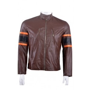 X-Men: Apocalypse Logan Jacket Cosplay Costume Brown