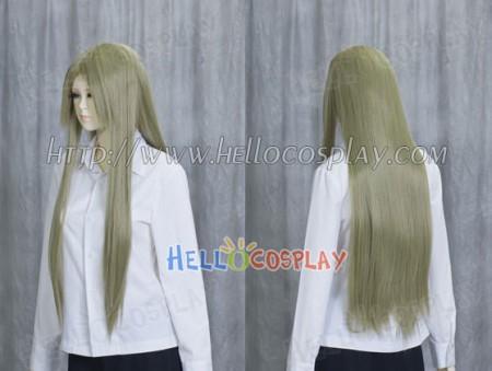 Pale Olive Medium Cosplay Wig
