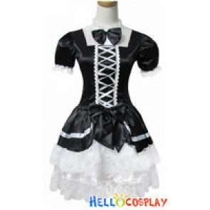 Angel Feather Cosplay Maid Dress Fantasy Costume