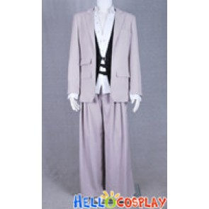 Final Fantasy VII Advent Children Rufus Shinra Cosplay Costume