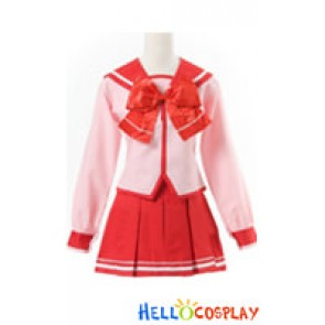 To Heart 2 ToHeart2 Cosplay Konomi Yuzuhara Sailor Unifrom Costume
