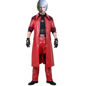 Devil May Cry 4 Special Edition DMC Cosplay Dante Costume New Version