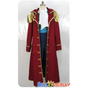 One Piece Cosplay Gol D Roger Gold Costume Pirate Hat