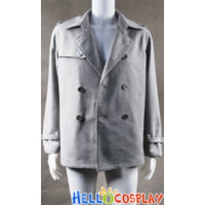 Twilight Cosplay Edward Cullen Costume Grey Coat