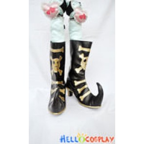Blue Exorcist Cosplay Amaimon Gold Boots