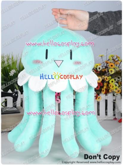 Dramatical Murder DMMD Cosplay Clear Jellyfish Pillow Plush Doll Light Green