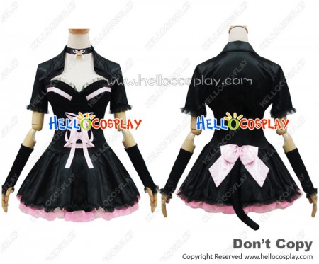 Angel Feather Cosplay Sexy Cat Vest Dress Costume