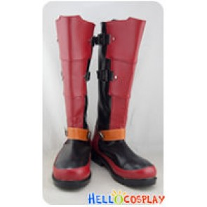 Fox McCloud Cosplay Star Fox Red Long Boots
