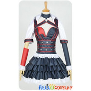 Batman Arkham Knight Harley Quinn Cosplay Costume Dress
