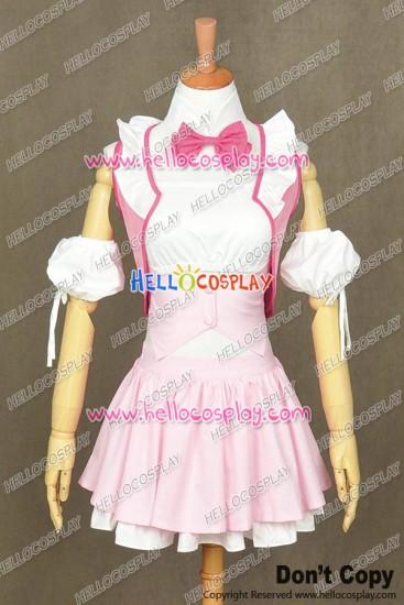 Beyond The Boundary Cosplay Mirai Kuriyama Maid Dress Costume