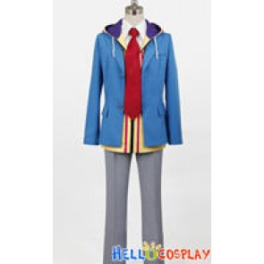 Hakuouki Zuisouroku SSL Gakuen Boy Uniform Heisuke Todo Costume