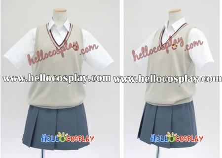 Kannagi: Crazy Shrine Maidens Cosplay Costume Uniform