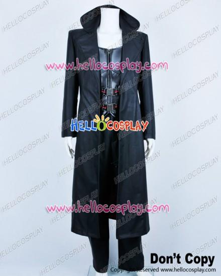 Blade Trinity Cosplay Wesley Snipes Costume Black Full Set