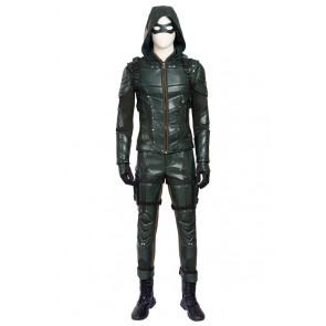 Green Arrow 5 Oliver Queen Cosplay Costume