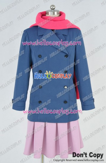 Noragami Cosplay Hiyori Iki Coat Uniform Full Set Costume
