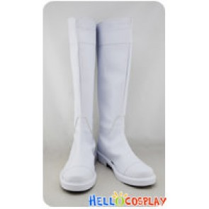 Makai Ouji Devils and Realist Cosplay Dantalion Huber White Boots