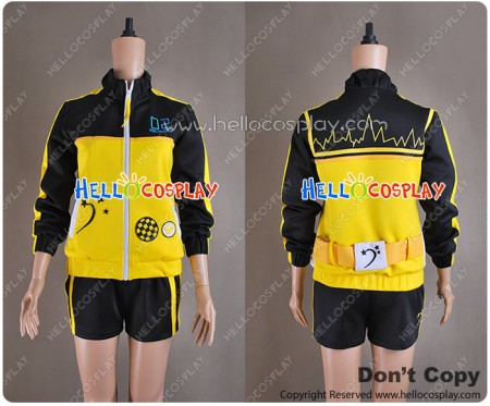 Project DIVA F Stylish Energy L Kagamine Len Costume Sportswear