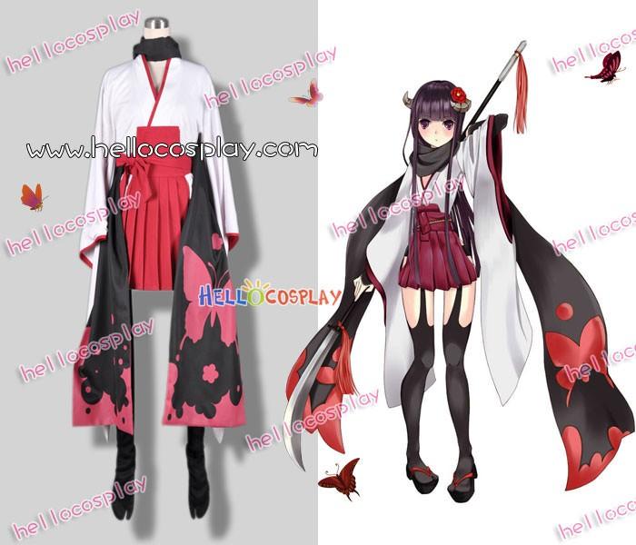 NEW Halloween COS Dress Inu x Boku SS Shirakiin Cosplay Costume Full Suit