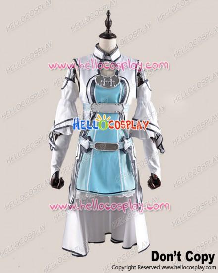 Sword Art Online Cosplay Asuna Yūki Fairy Dance Ver ALO Combat Uniform Costume