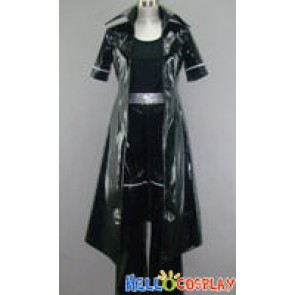 Togainu no Chi Cosplay Shiki Costume Leather